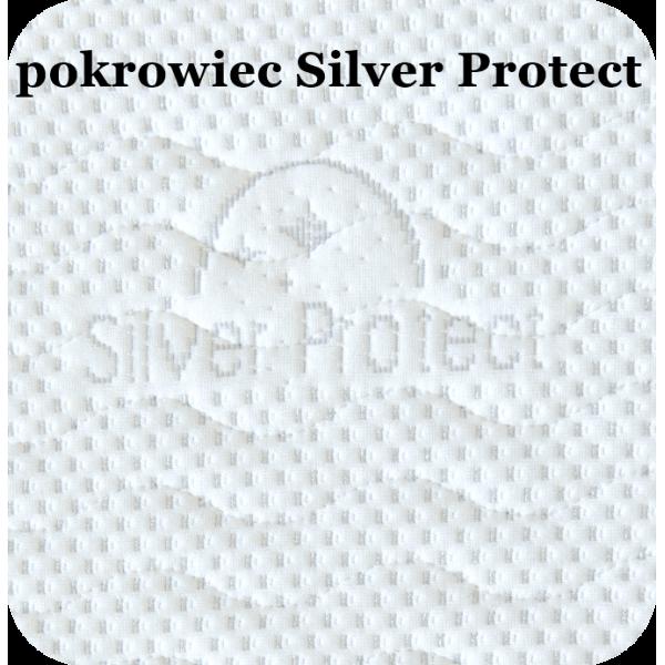 Delia Silver Protect - materac kieszonkowy o dwóch twardościach