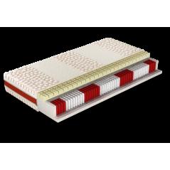 Jaśmin - materac kieszonkowy multipocket z pianką termoelastyczną