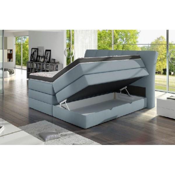 Łóżko Korfu 180x200 Soft-Top z pojemnikiem