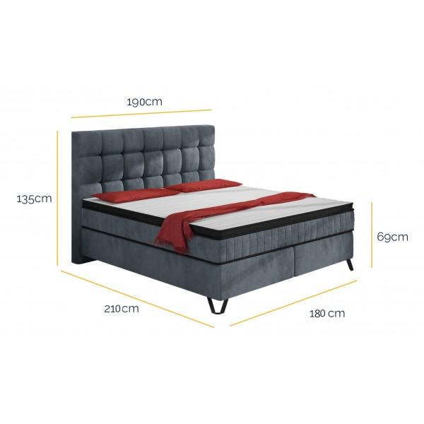 Łóżko Kontynentalne Alexander 180x200