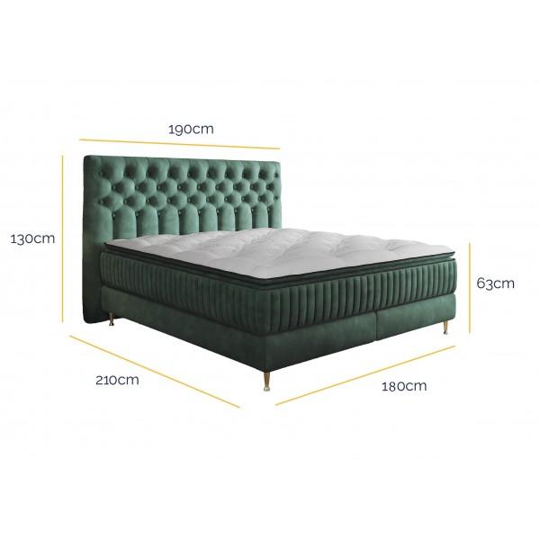 Łóżko Kontynentalne Astoria 180x200