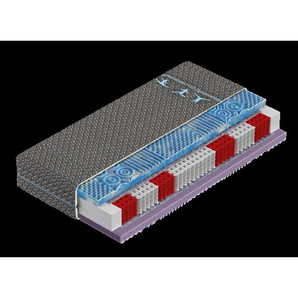 Pro Dynamic H4 - materac kieszeniowy z pianką Gelax