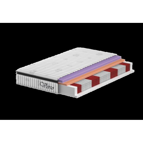 Verso - materac Multi- Multipocket z pianką antybakteryjną