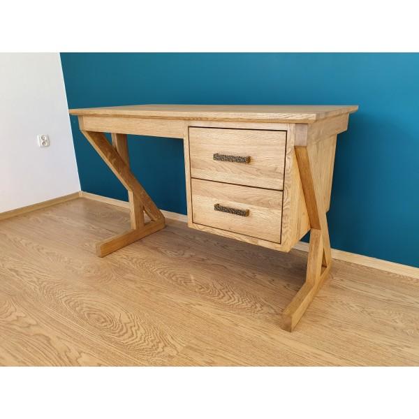 Drewniane dębowe biurko ZET