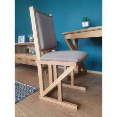 Drewniane dębowe krzesło ZET