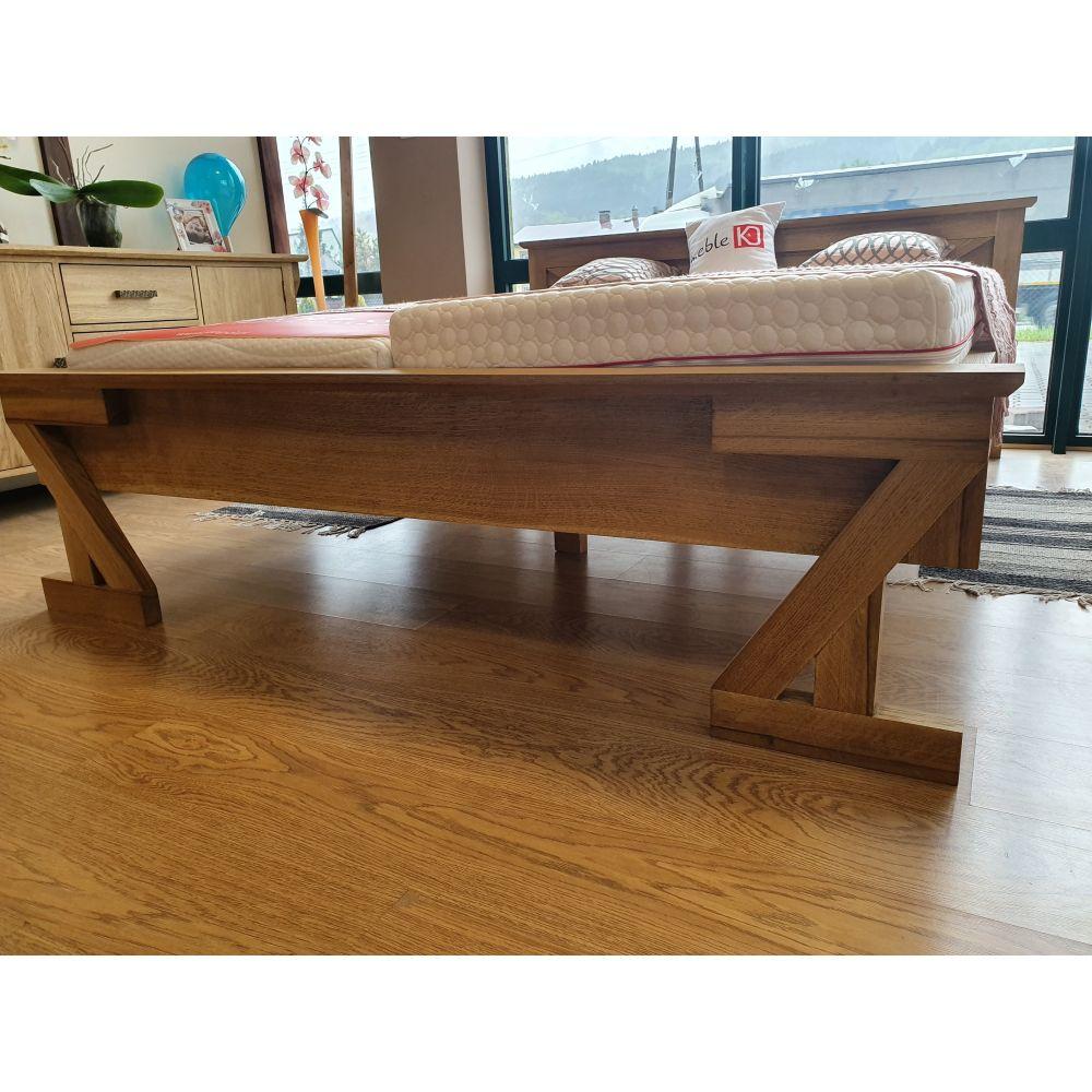 Drewniane biurko Royal White