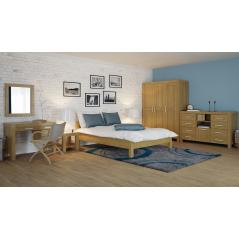 Łóżko drewniane Valentino 200x220