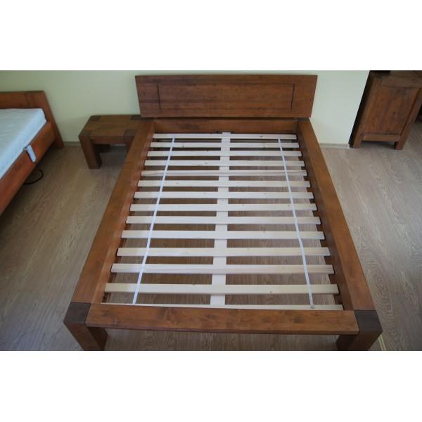 PROMOCJA łóżko Valentino 180x200 z pojemnikiem i szafkami z szufladką + materac za 1 zł