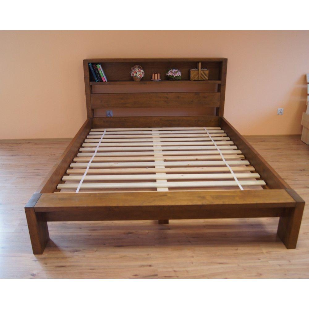 Łóżko drewniane 180x200 z...