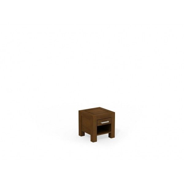Szafka nocna drewniana z szufladką