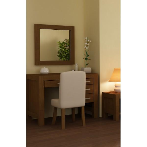 Toaletka z lustrem drewniana Amelia