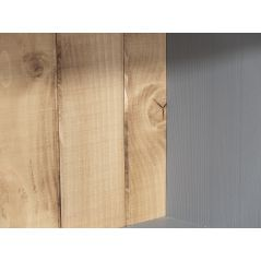 Witryna Drewniana W-7P z dębowym blatem