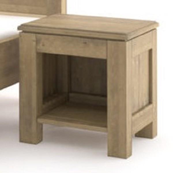Szafka nocna drewniana postarzana standardowa