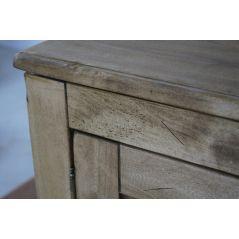 Komoda drewniana postarzana Messina