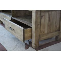 Komoda drewniana postarzana Aruba