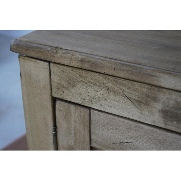 Komoda drewniana postarzana Aurelia