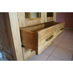 Witryna drewniana postarzana Alba