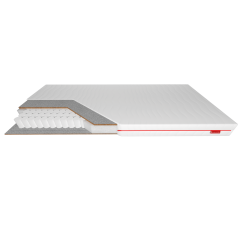 Erebu Silver Protect - twardy materac kieszeniowy