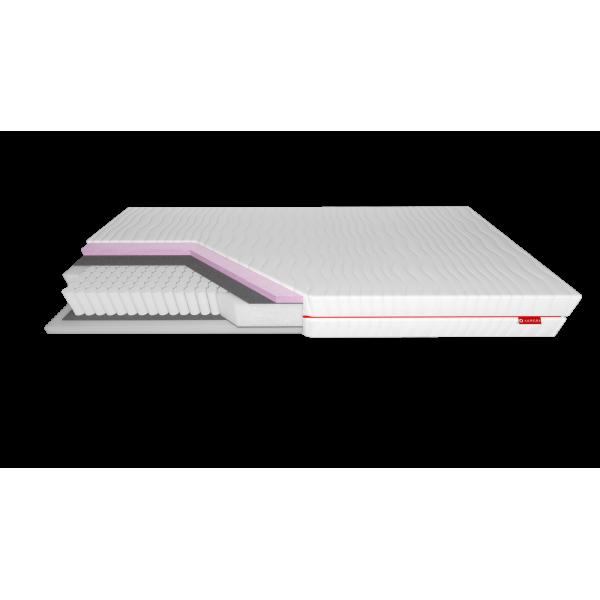 Niobe Silver Protect - materac multipocket z pianką termoelastyczną