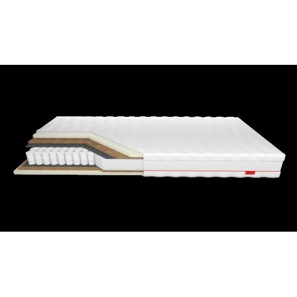 Erebu Dream - materac kieszonkowy z pianką termoelastyczną i kokosem