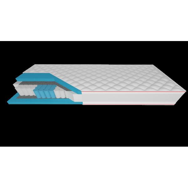 Helio - materac multipocket z pianką termoelastyczną