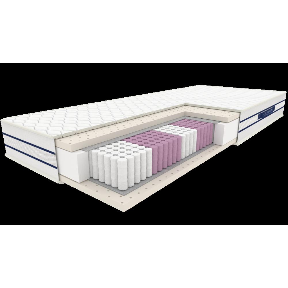 Diament- materac multipocket z lateksem