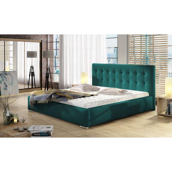 Łóżko Dolores 120x200 z pojemnikiem i materacem Passion