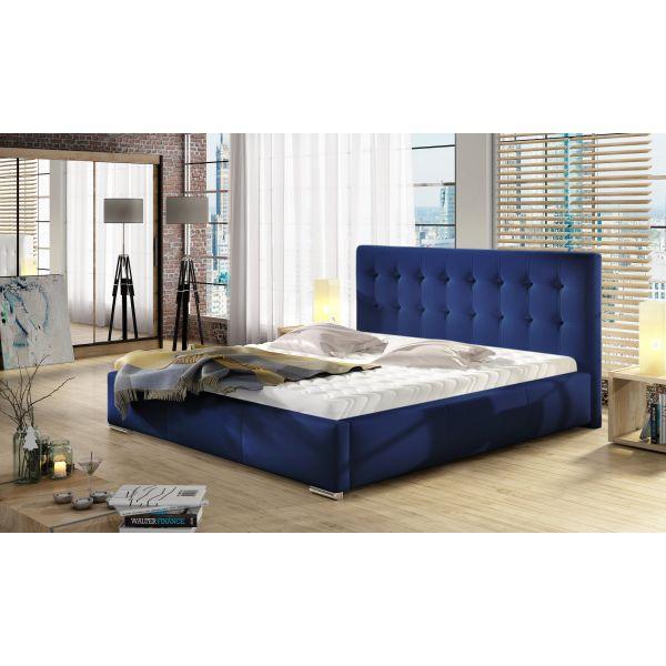 Łóżko Dolores 140x200 z pojemnikiem i materacem Passion