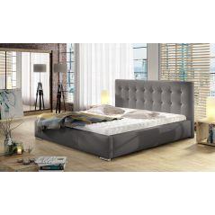Łóżko Dolores 160x200 z pojemnikiem i materacem Passion