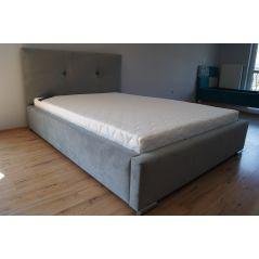 Łóżko Lily 140x200 ze stelażem i materacem Passion