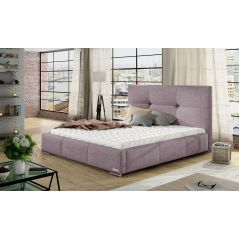 Łóżko Lily 160x200 ze stelażem i materacem Passion