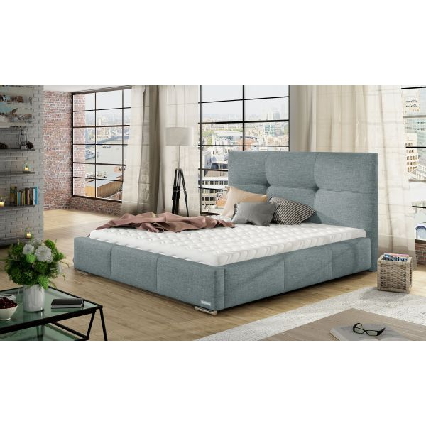 Łóżko Lily 140x200 z pojemnikiem i materacem Passion