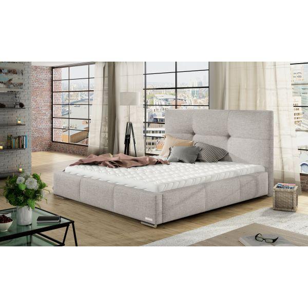 Łóżko Lily 180x200 z pojemnikiem i materacem Passion