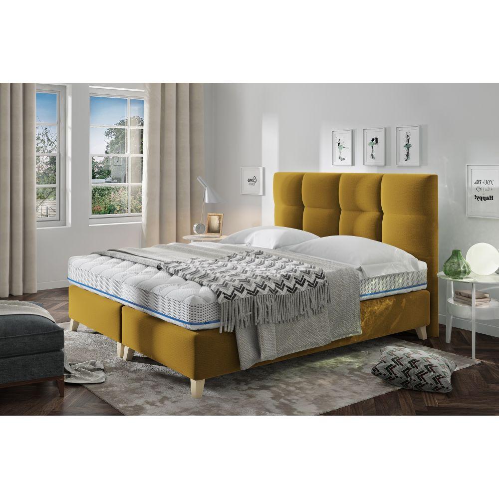 Łóżko Mona 180x200 z pojemnikiem na pościel