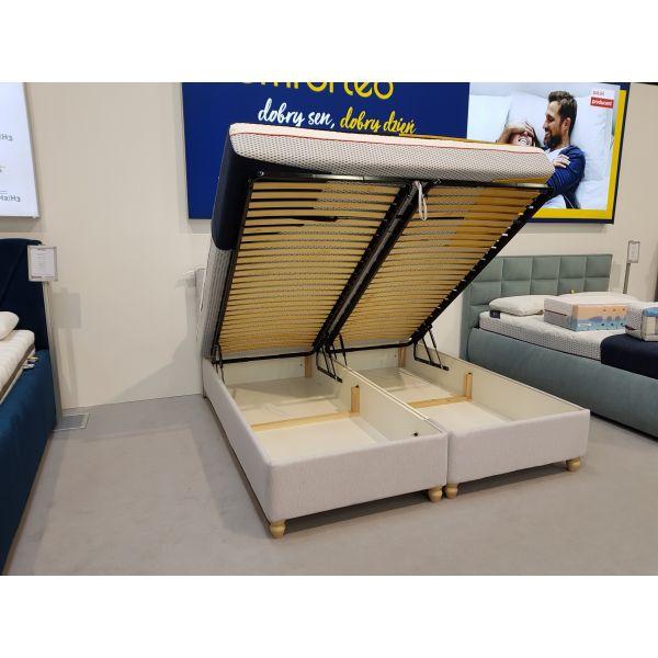 Łóżko Clara 160x200 z pojemnikiem na pościel