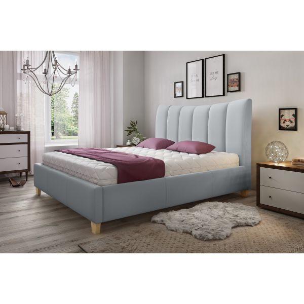 Łóżko Ariel 140x200 z pojemnikiem na pościel