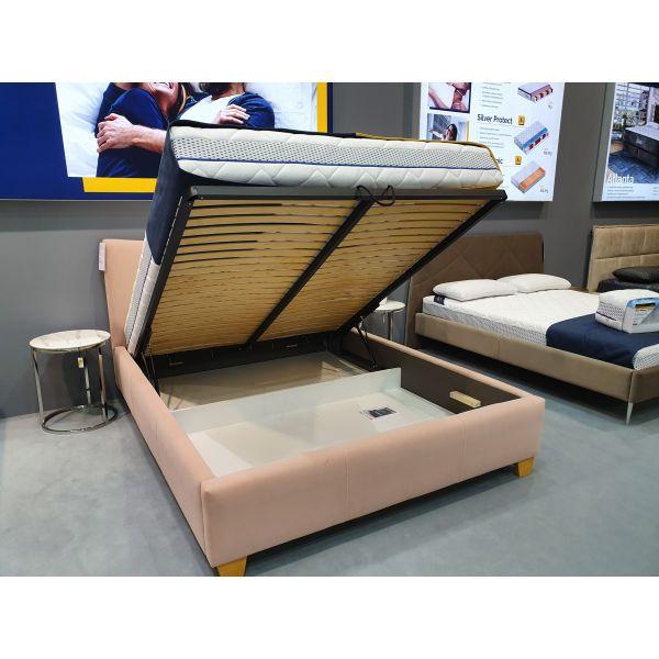 Łóżko Ariel 180x200 z pojemnikiem na pościel