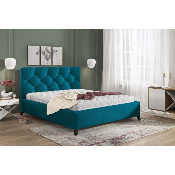 Łóżko Kasandra 140x200 z pojemnikiem na pościel