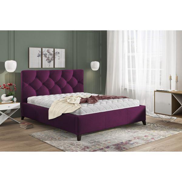 Łóżko Kasandra 160x200 z pojemnikiem na pościel