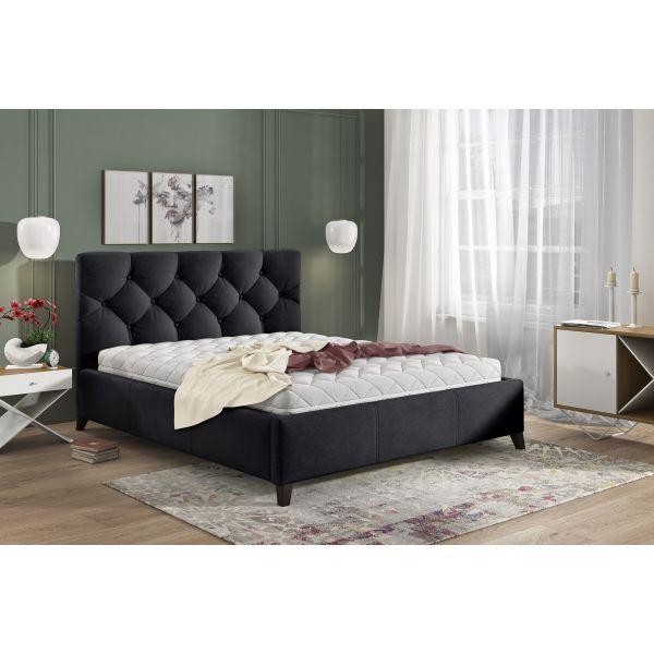 Łóżko Kasandra 180x200 z pojemnikiem na pościel