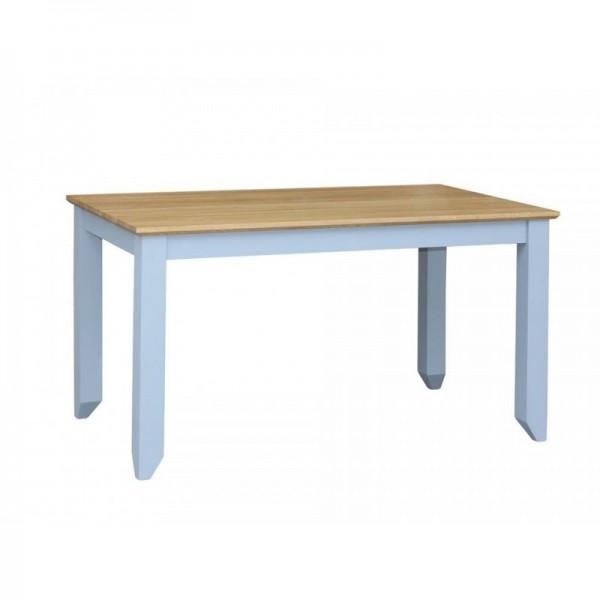 Stół drewniany S-2P 200/100 z dębowym blatem