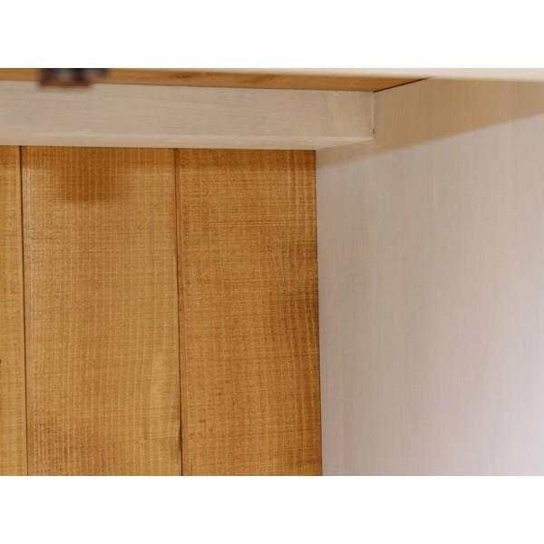 Komoda drewniana K-12P z dębowym blatem